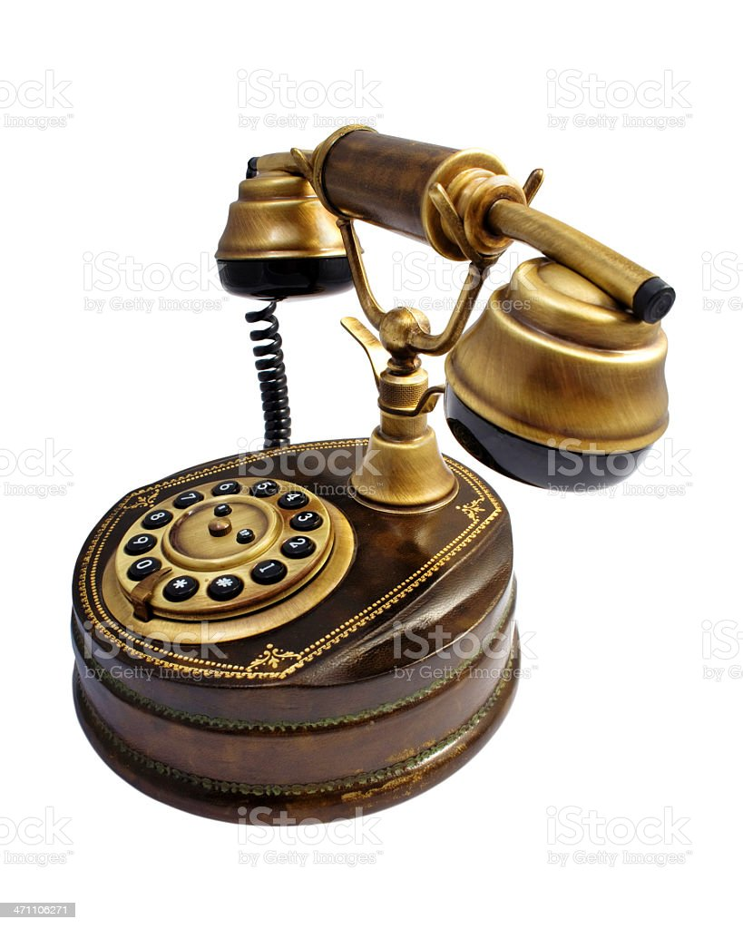 Vintage Telephone royalty-free stock photo