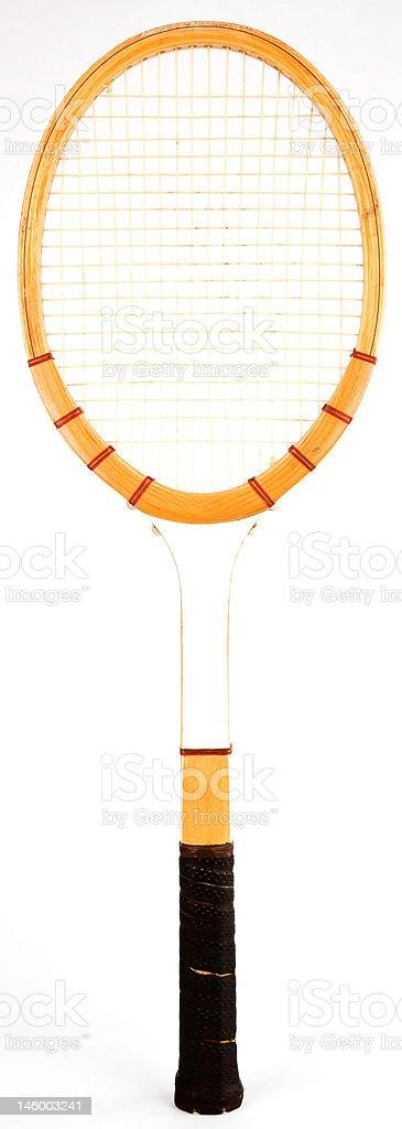 Vintage Tennis Racquet royalty-free stock photo