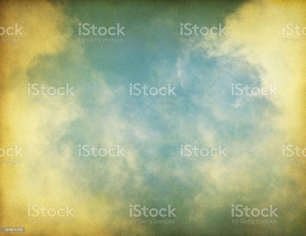 Vintage Textured Fog royalty-free stock photo