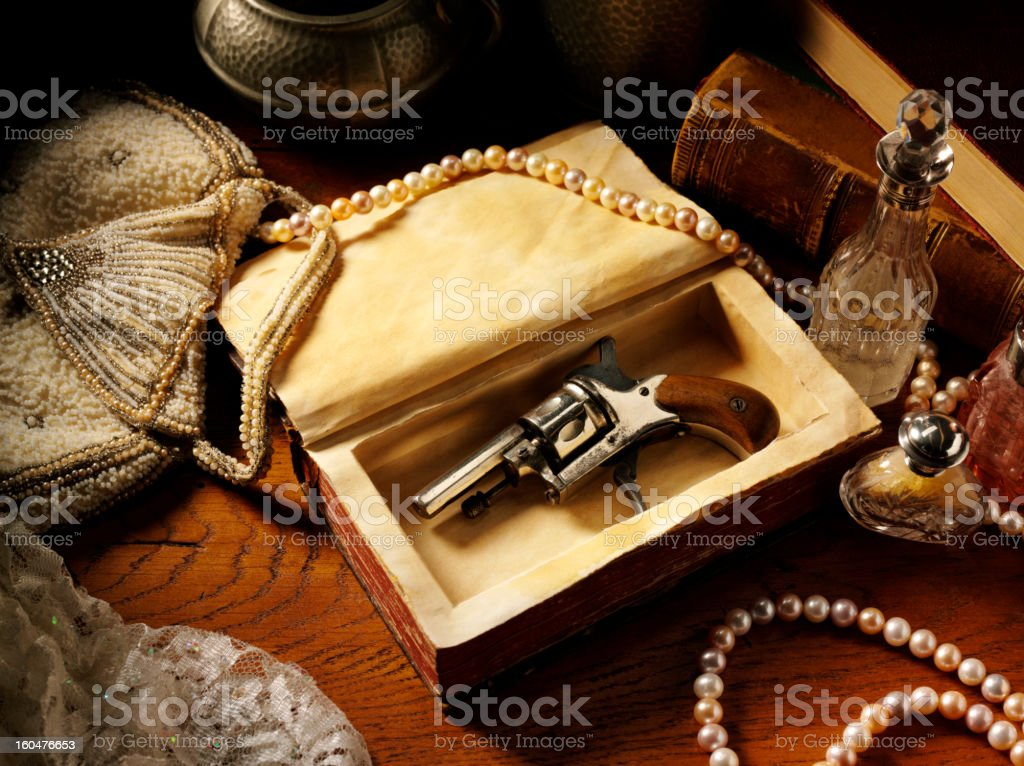 Vintage Themed Image stock photo