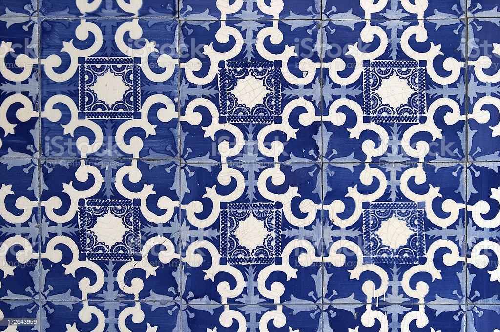 Vintage Tiles royalty-free stock photo