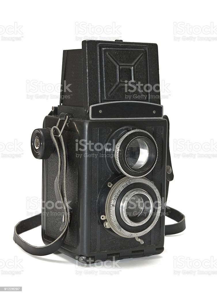 Vintage TLR royalty-free stock photo