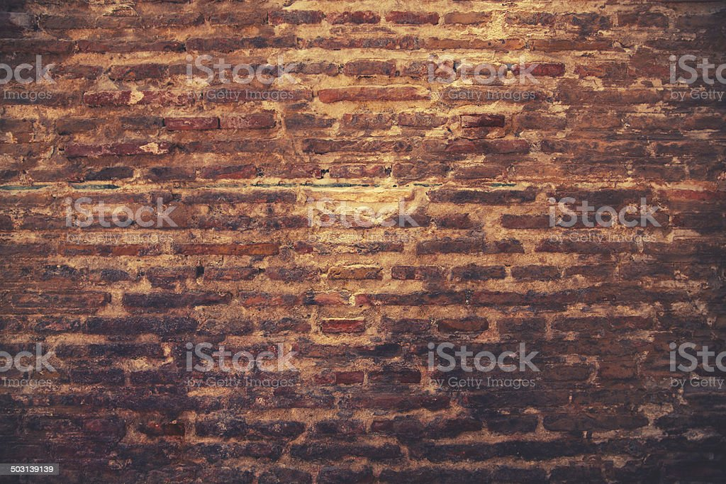 vintage toned wall royalty-free stock photo