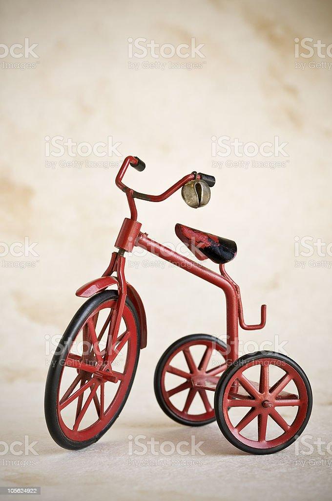 Juguetes vintage triciclo foto de stock libre de derechos
