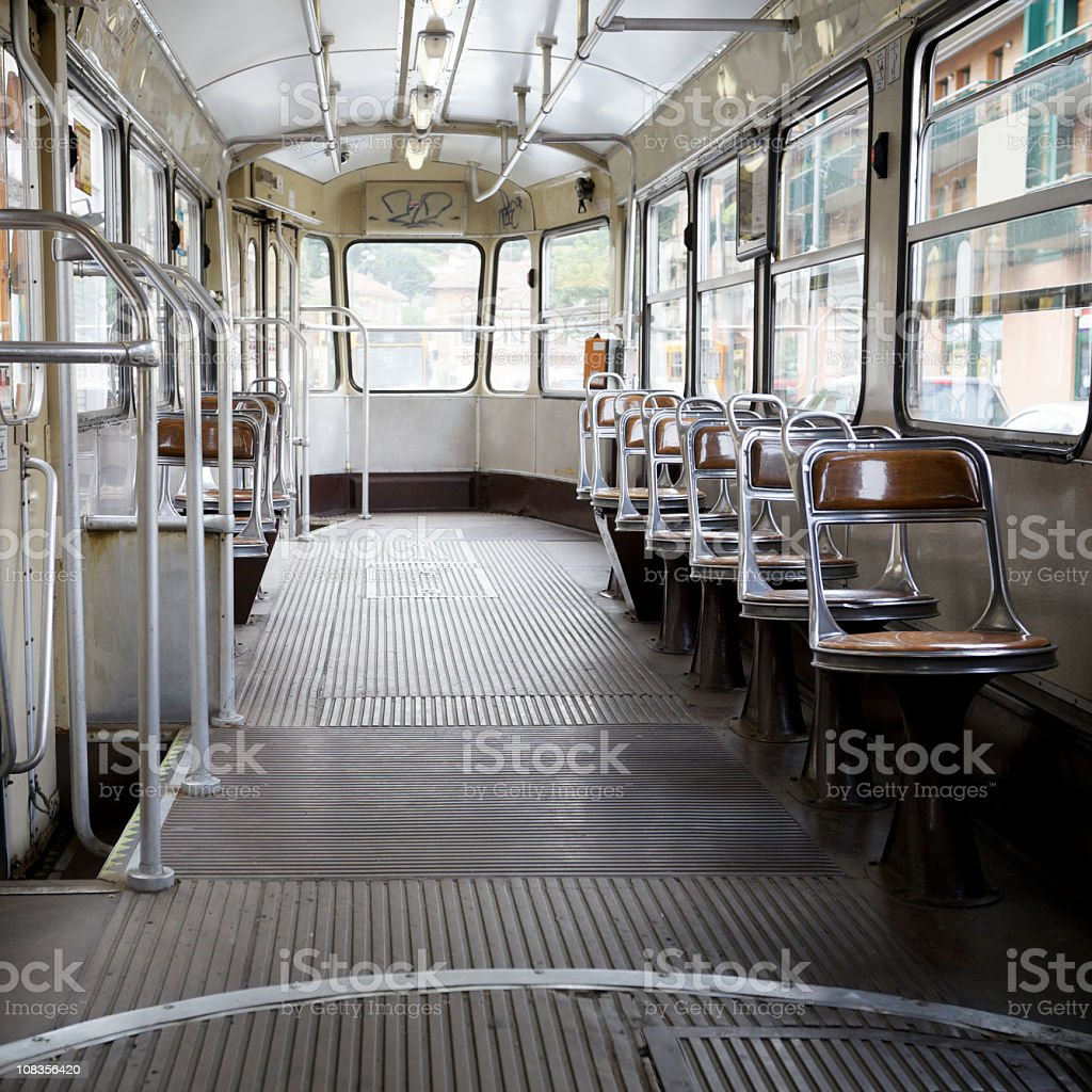 Vintage Tram royalty-free stock photo