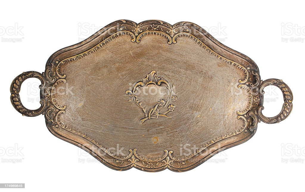 Vintage Tray royalty-free stock photo
