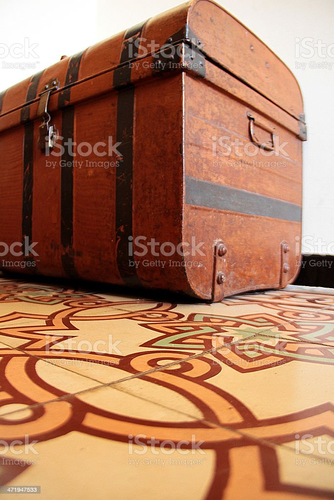 Vintage Trunk o sul petto foto stock royalty-free