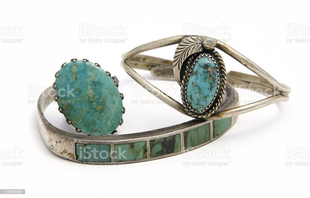 Vintage Turquoise royalty-free stock photo