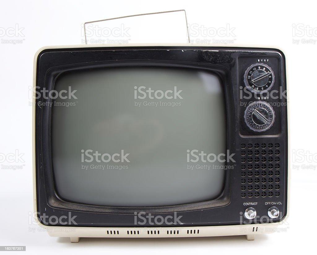 Vintage TV #5 royalty-free stock photo