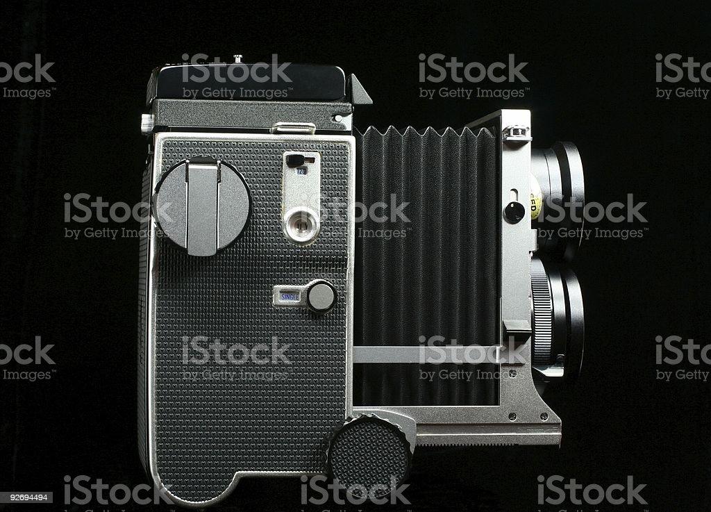 Vintage Twin-Lens Camera stock photo
