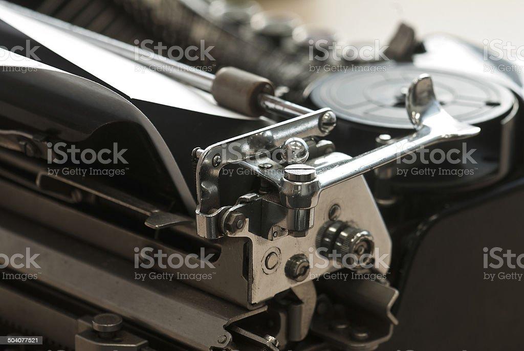 Máquina de escribir Vintage foto de stock libre de derechos