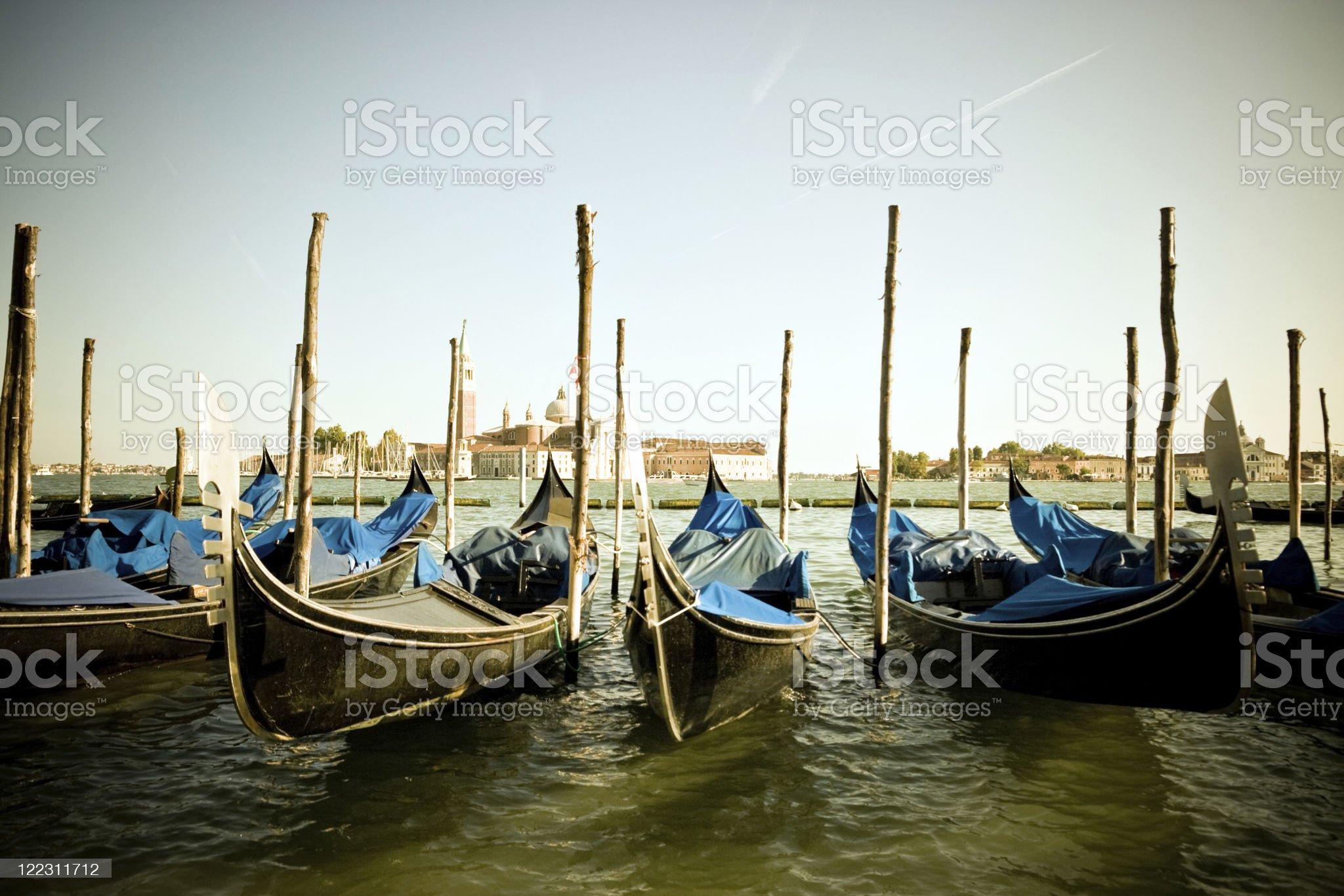 Vintage Venice royalty-free stock photo