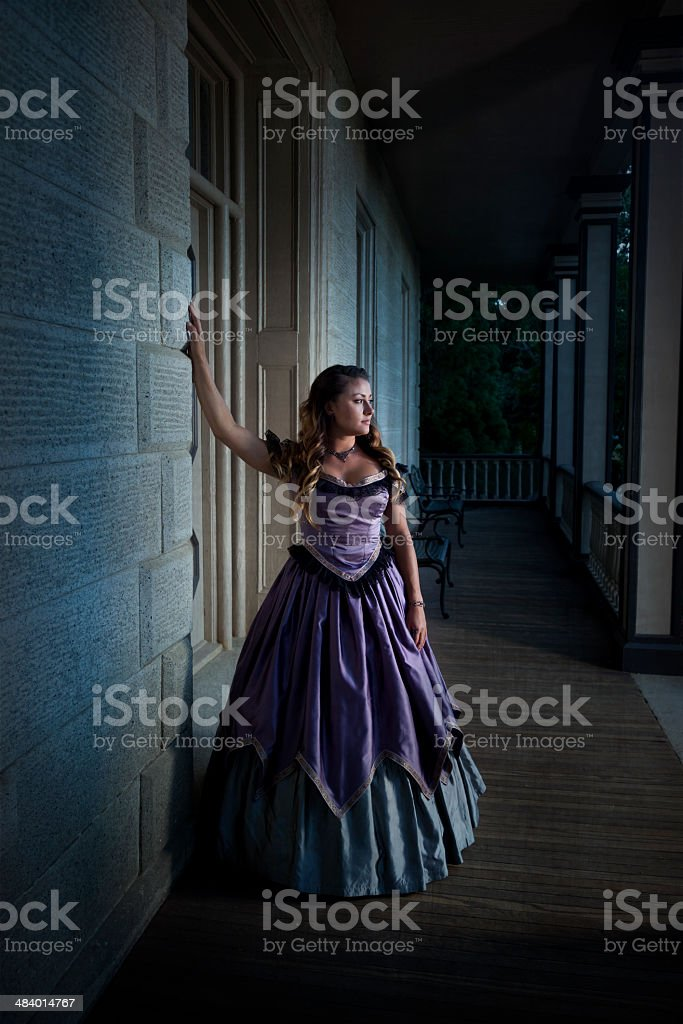 Vintage Victorian Woman royalty-free stock photo