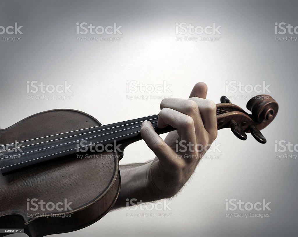 Vintage Violin royalty-free stock photo