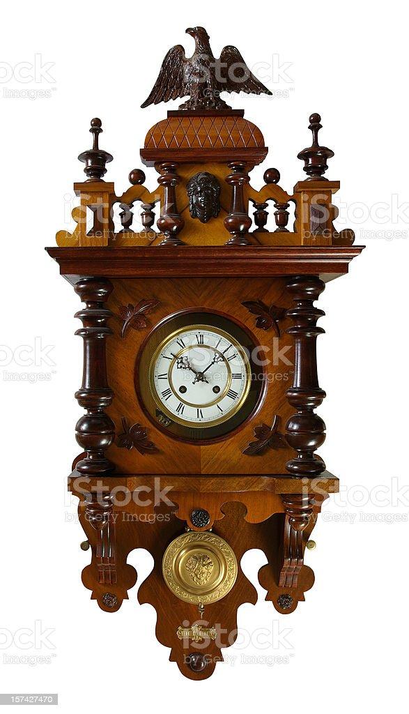 vintage Wall clock stock photo