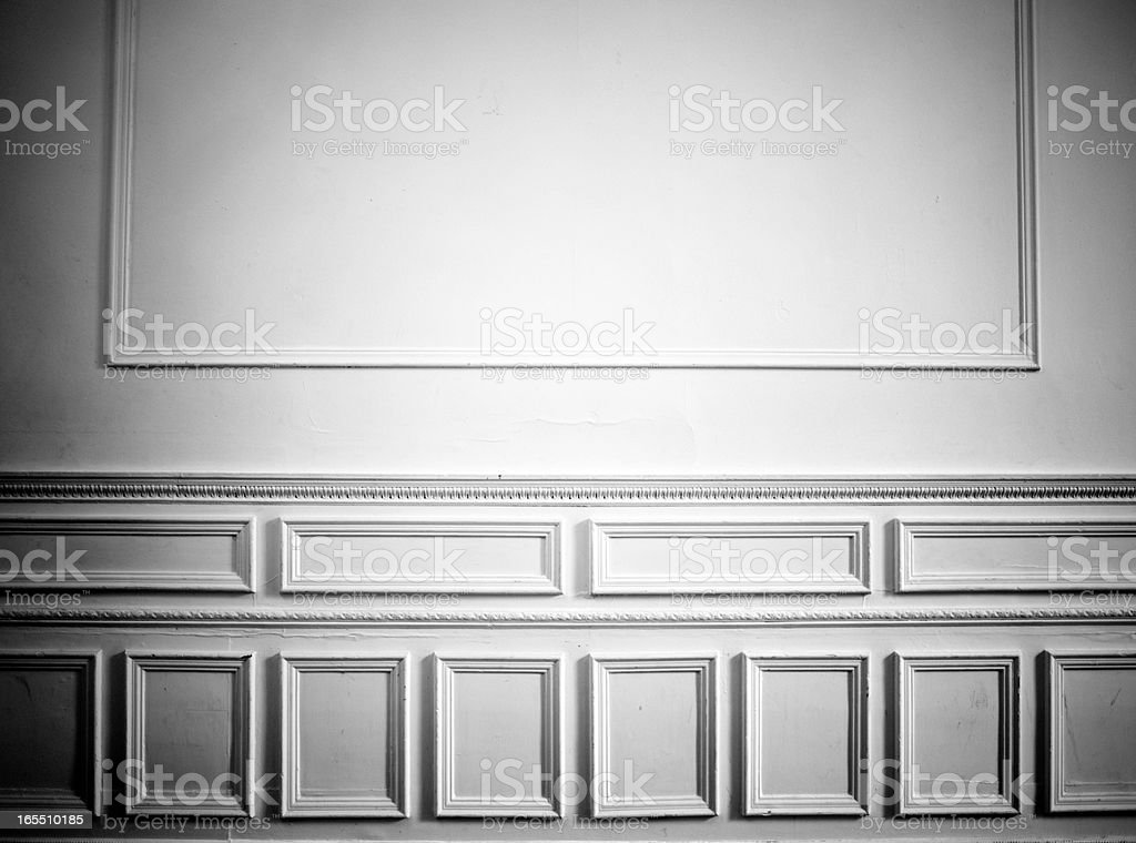 Vintage Wall decor, Old House stock photo