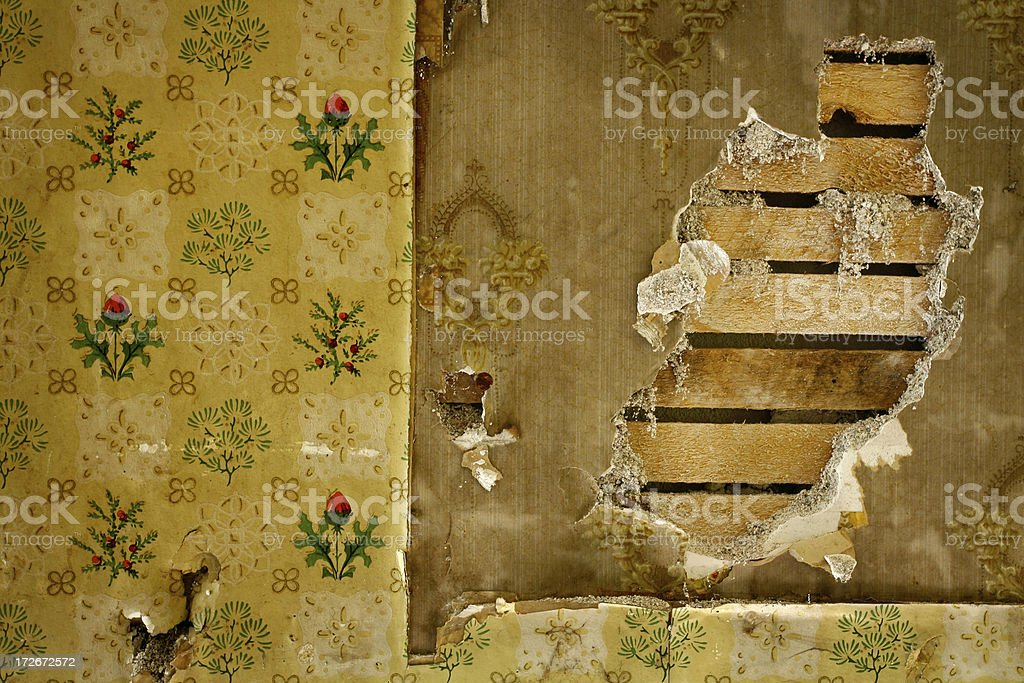 Vintage wall. royalty-free stock photo