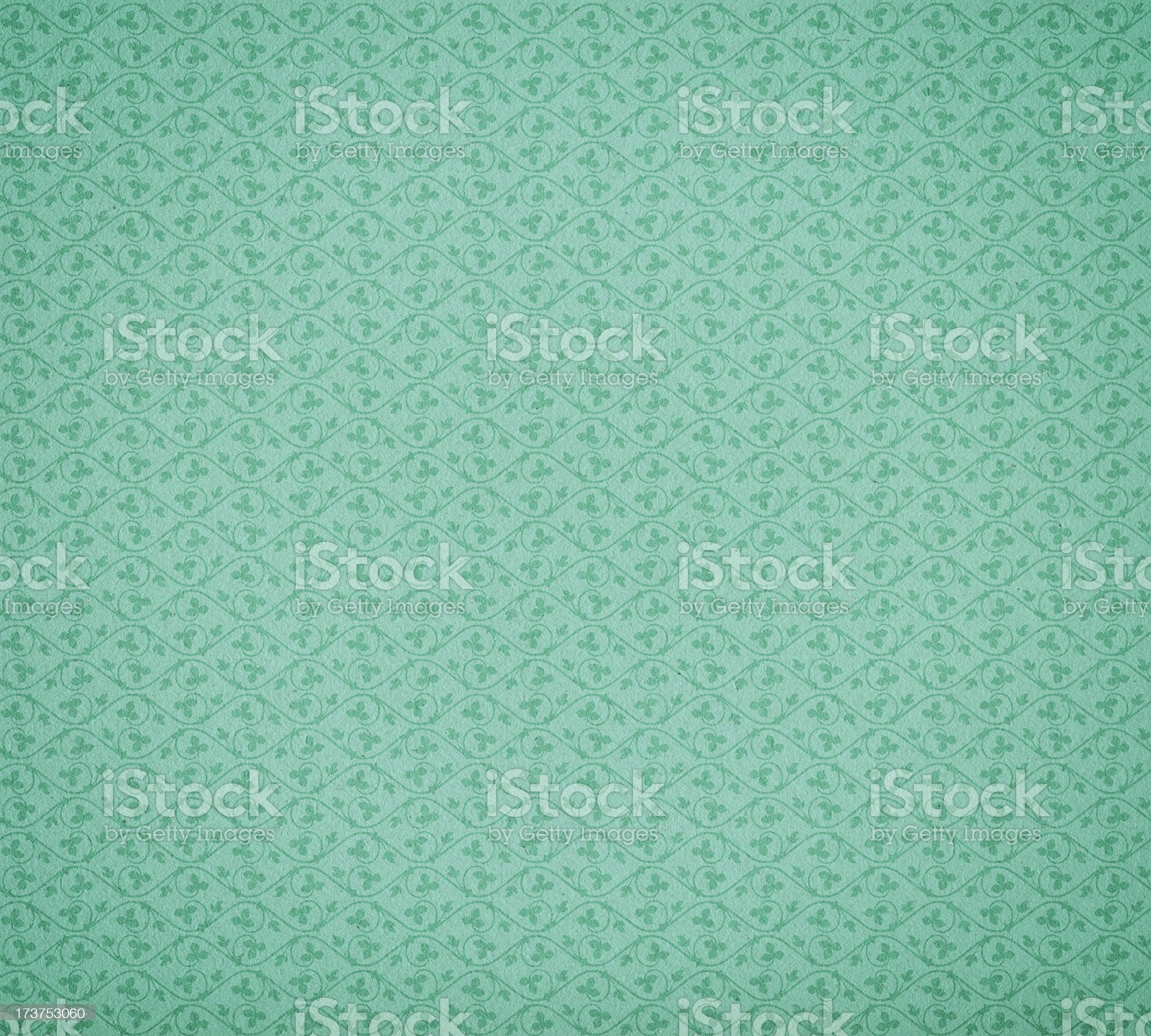 vintage wallpaper with ivy pattern royalty-free stock photo