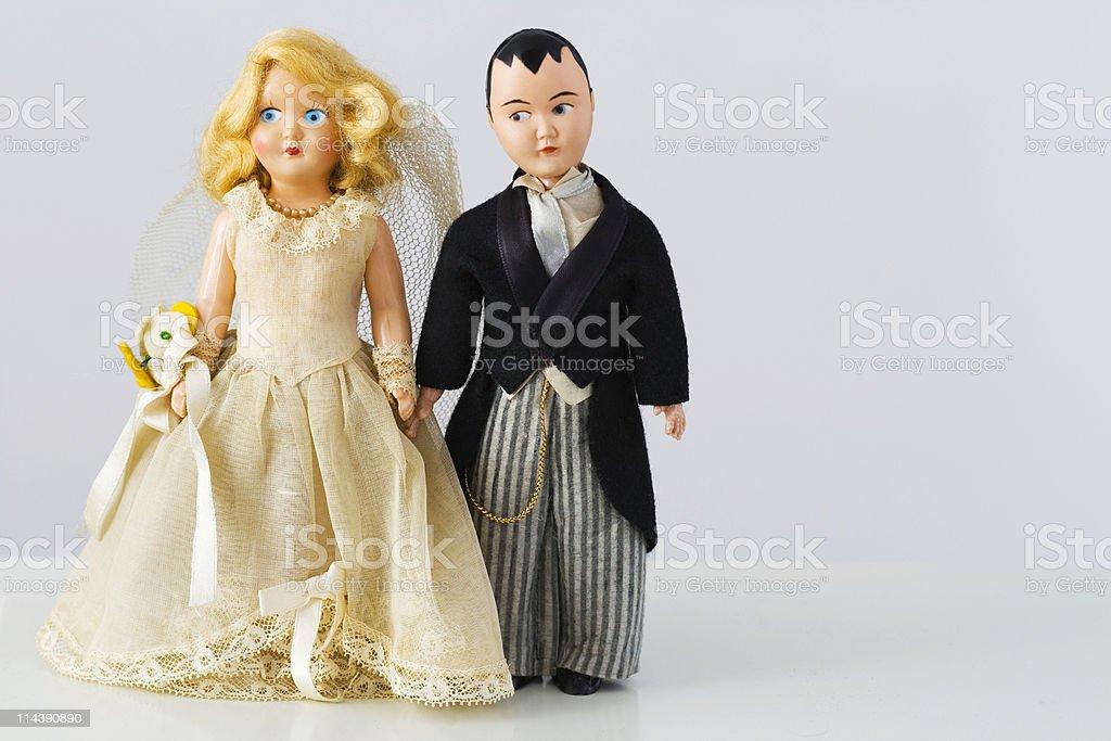 Vintage Wedding royalty-free stock photo