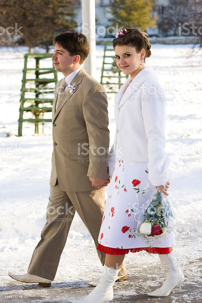 Vintage wedding royalty-free stock photo