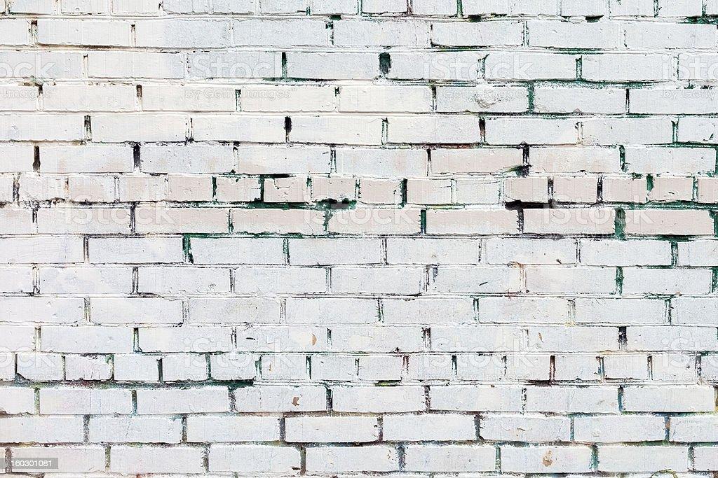 Vintage white background brickwall royalty-free stock photo