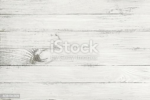 White Table Top View