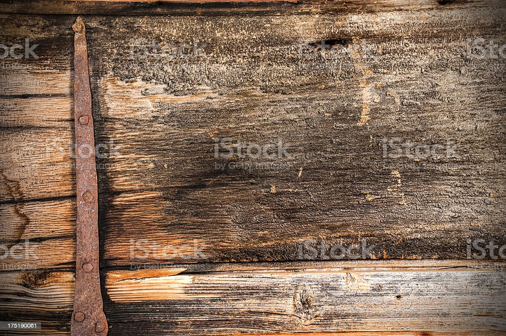 Vintage wood plank royalty-free stock photo