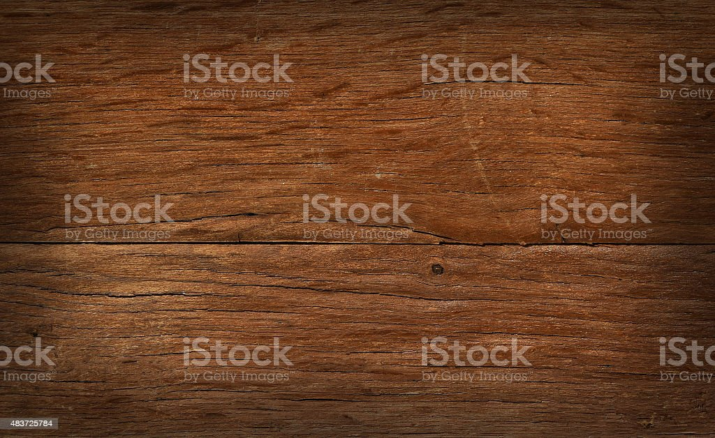 Vintage wooden board with cracks, checks and shaded border royalty-free stock photo