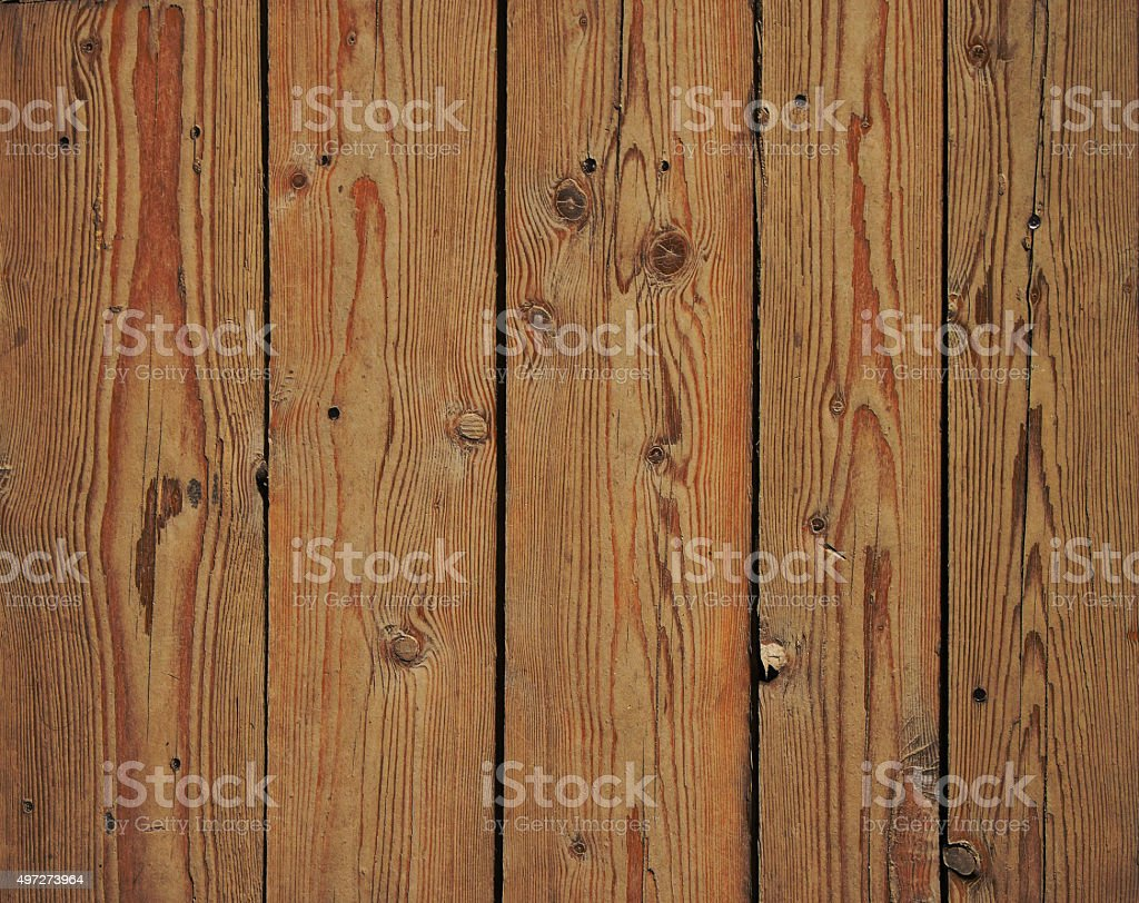 Vintage wooden panel with vertical planks and gaps royalty-free stock photo