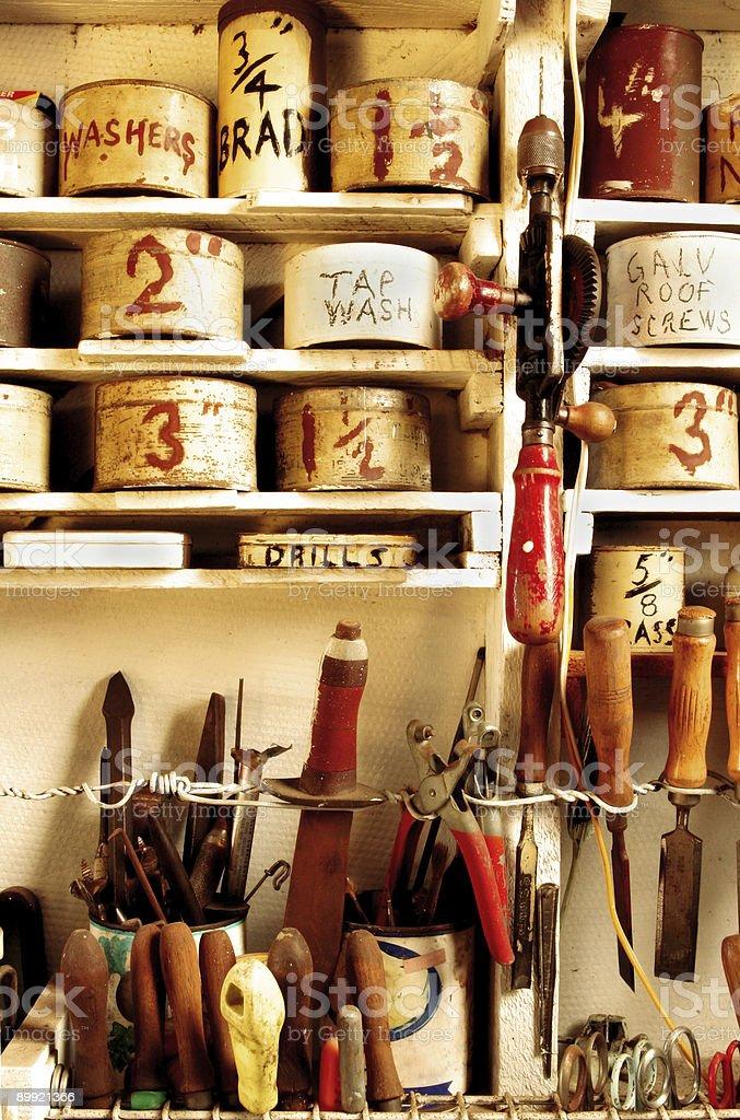 Vintage Workshop royalty-free stock photo