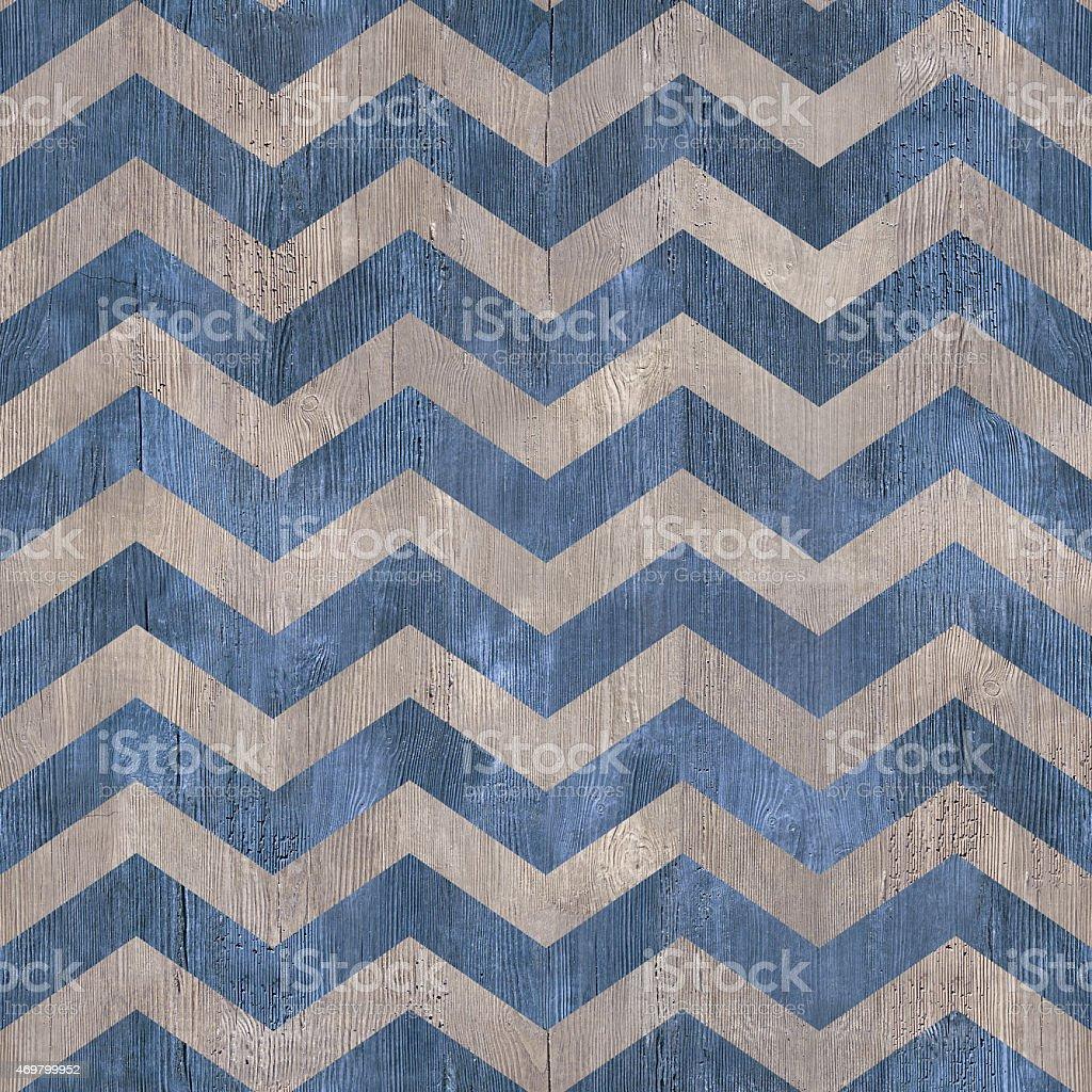 vintage zig zag pattern - seamless background - wooden texhture stock photo