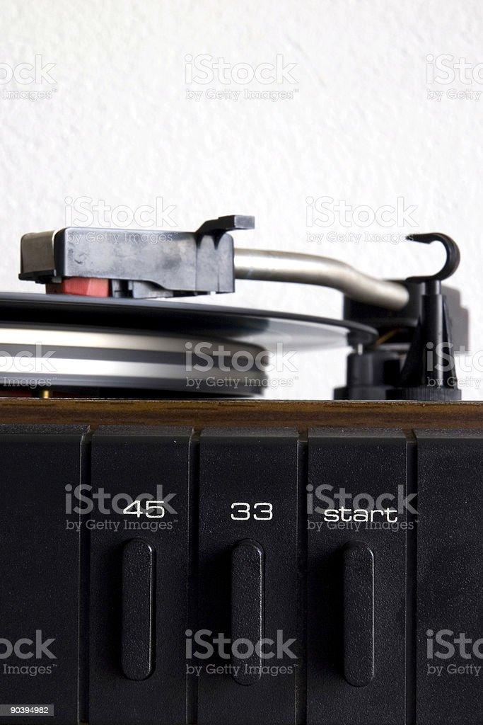 Vinyl Player (2) royalty-free stock photo