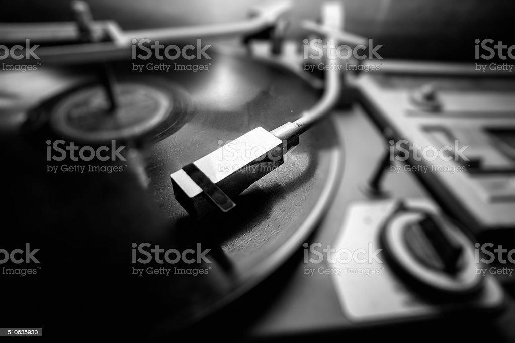 Vinyl Player / Vintage stock photo