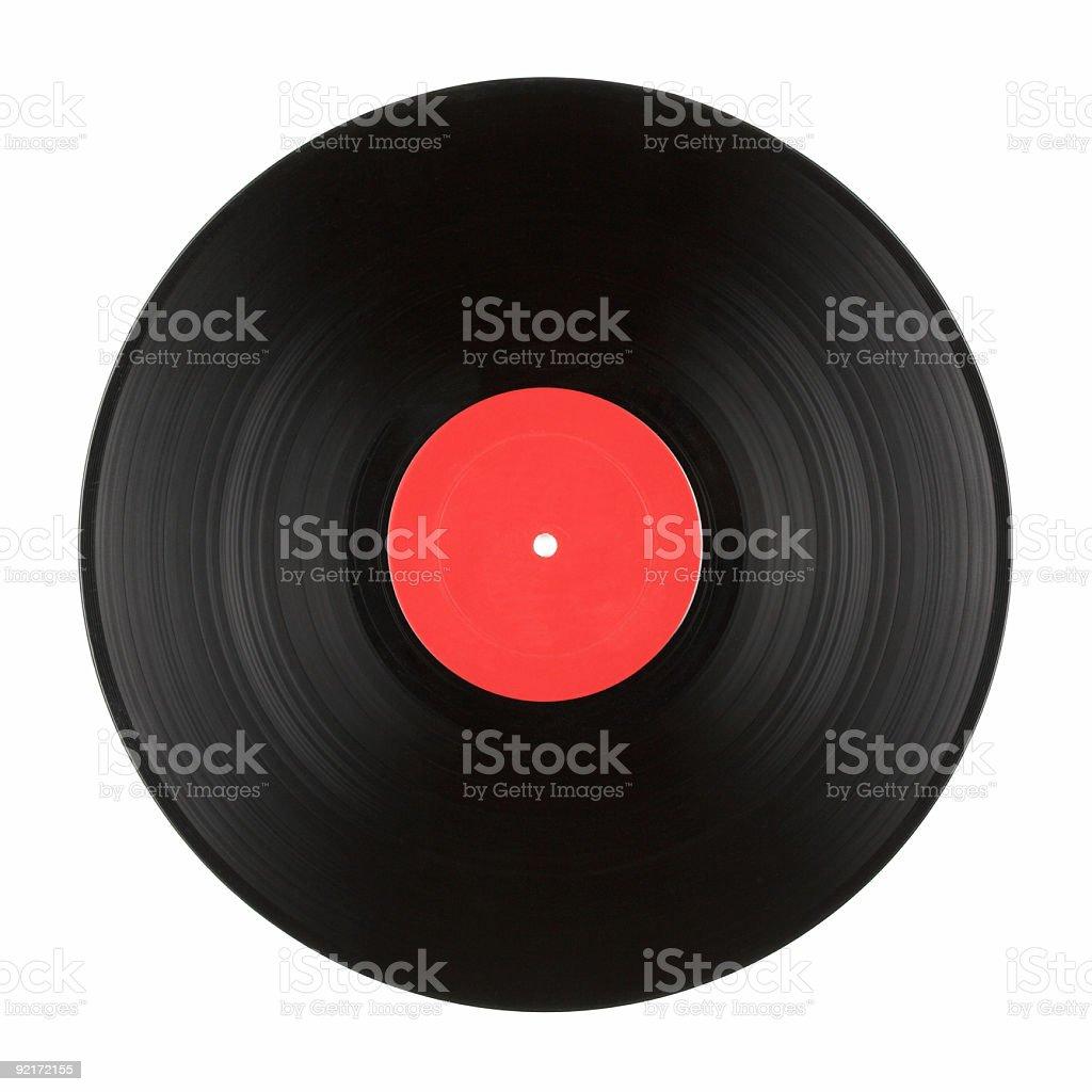Vinyl Record Album stock photo