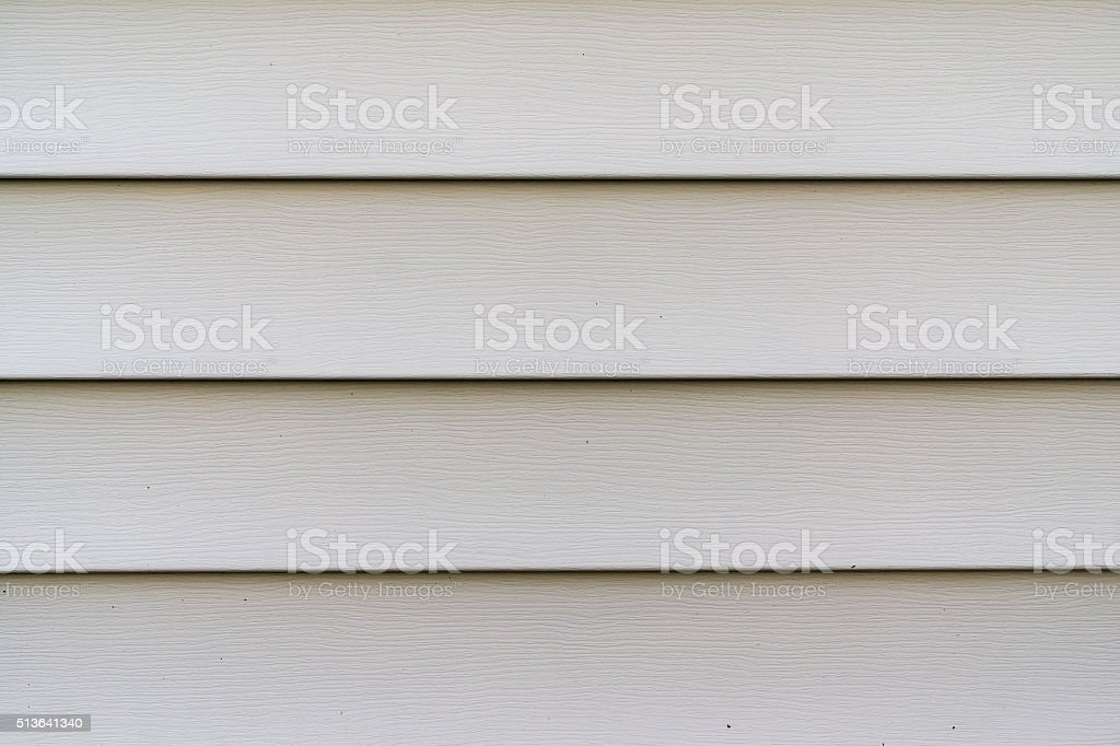 Vinyl siding stock photo