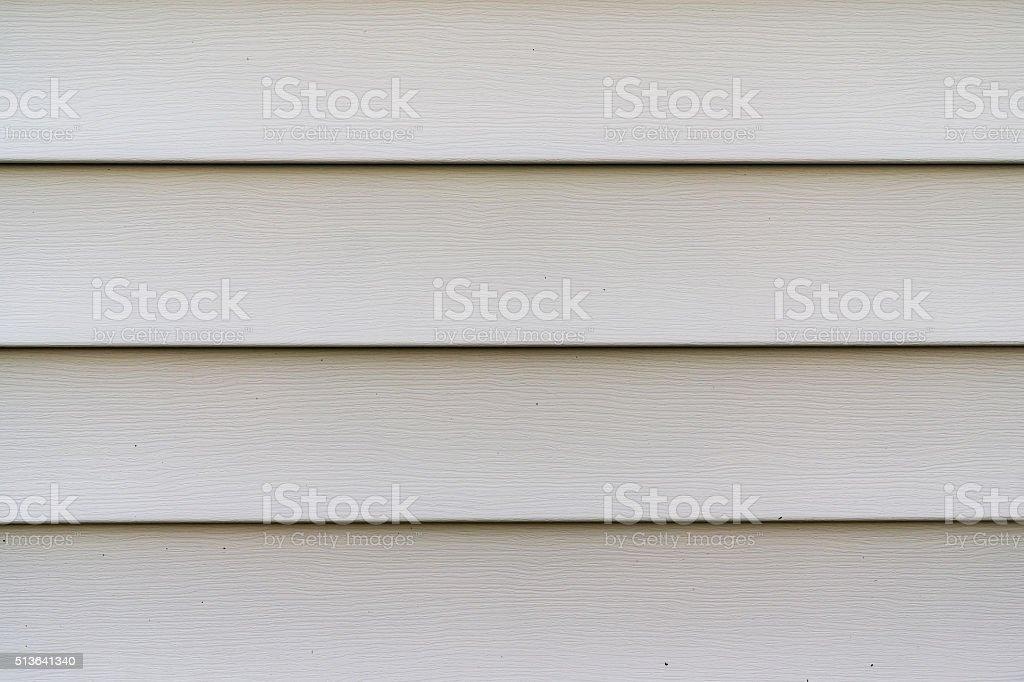 Vinyl siding stock photo