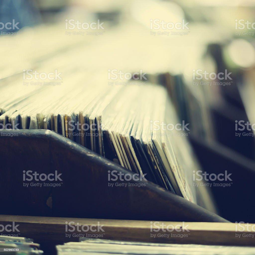 Vinyls stock photo