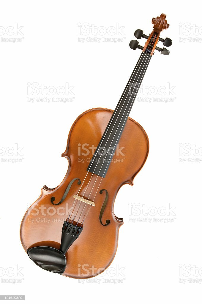 Viola or violin stock photo