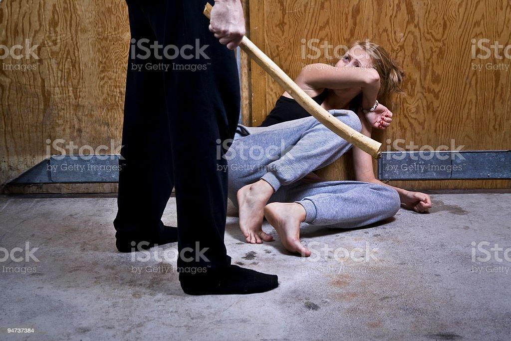 Violence royalty-free stock photo