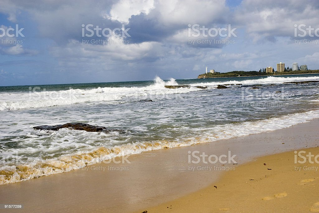 violent coastline stock photo