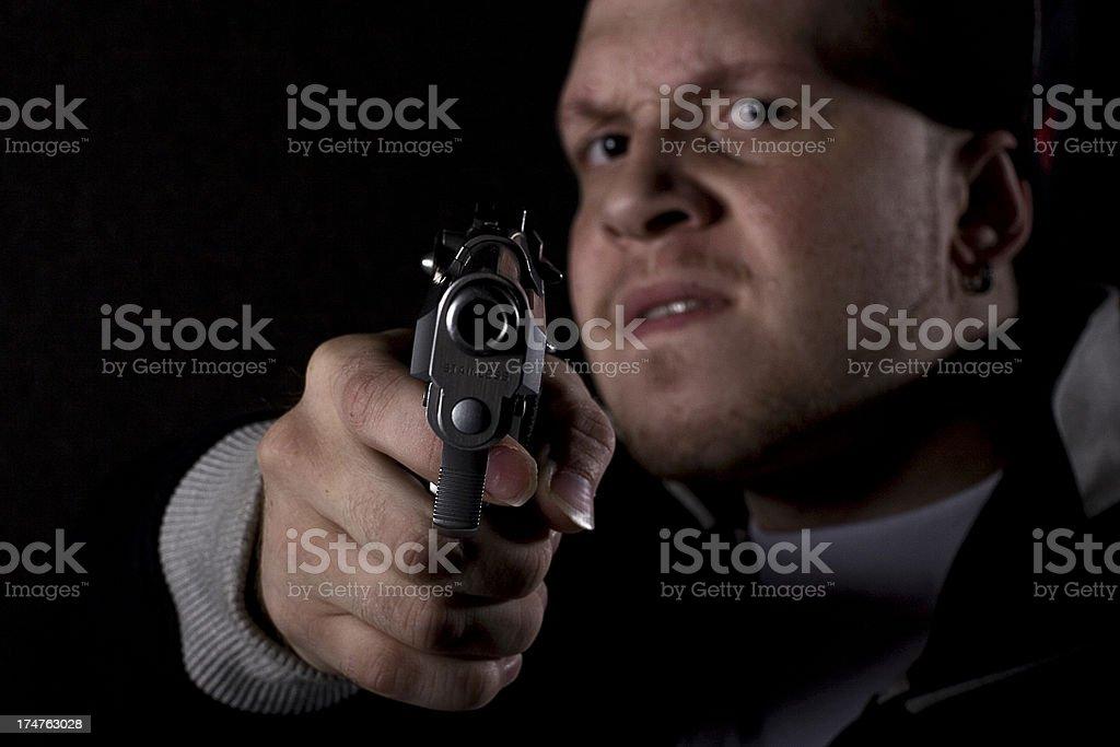 Violent crime royalty-free stock photo