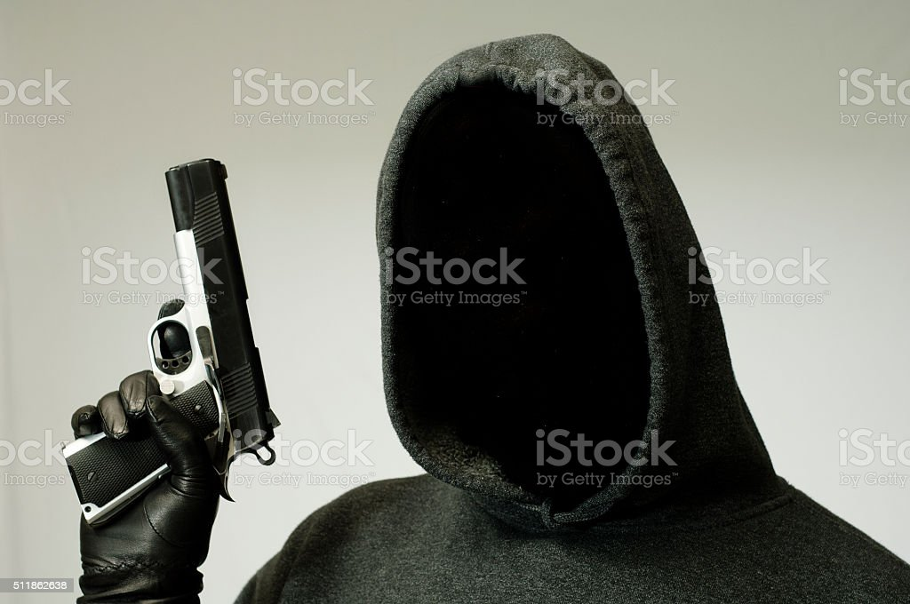 Violent Crime stock photo