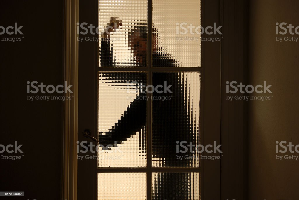 Violent Man royalty-free stock photo