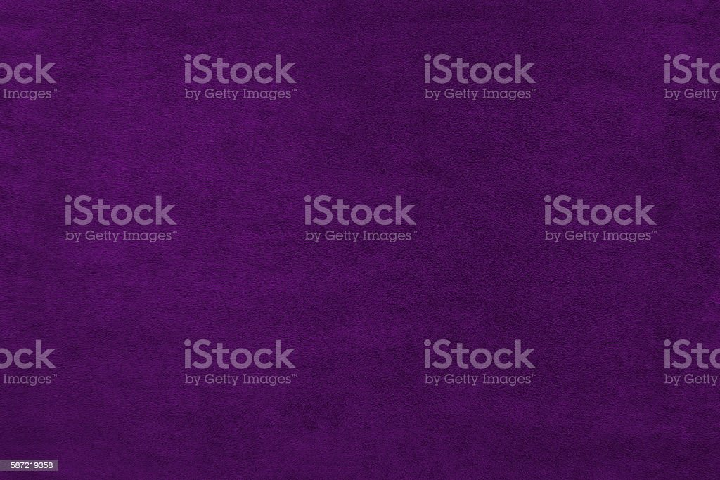 Violet color velvet texture background stock photo