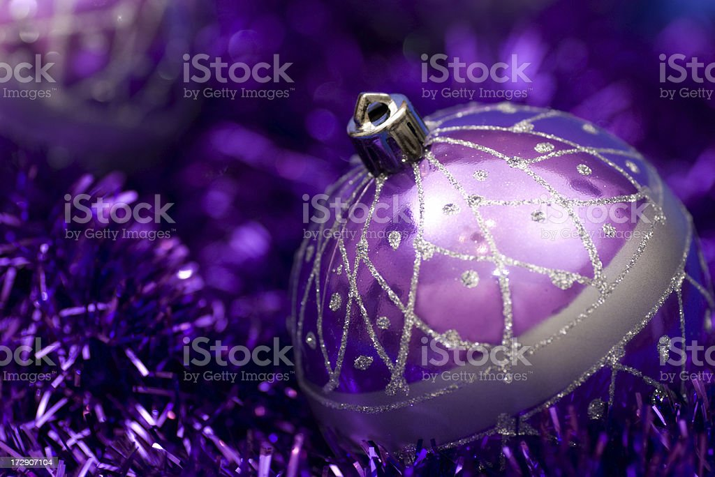 Violet decoration royalty-free stock photo