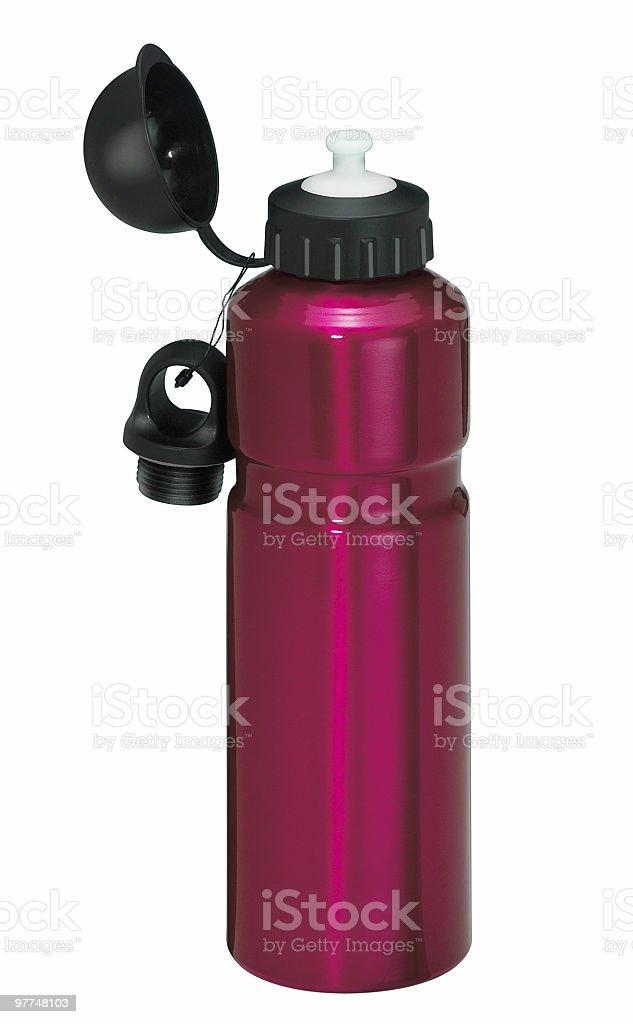 violet flask stock photo