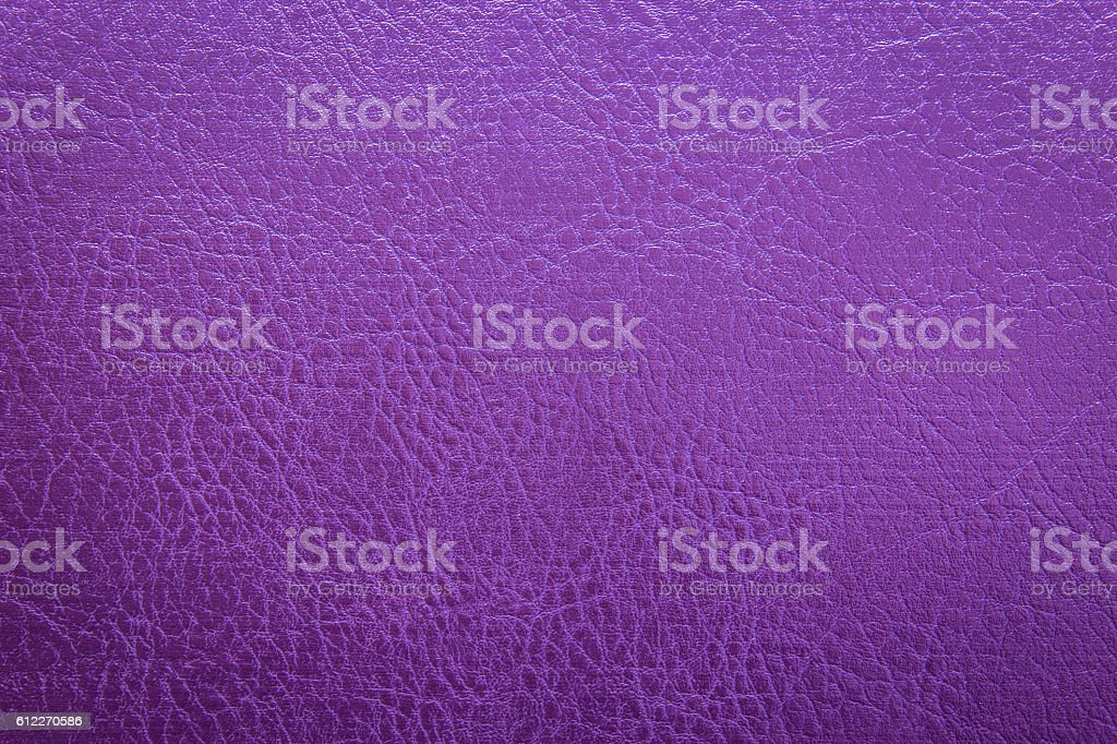Violet leather with texture/structure stock photo