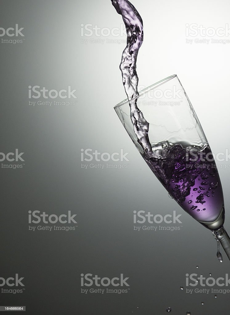 violet motion royalty-free stock photo