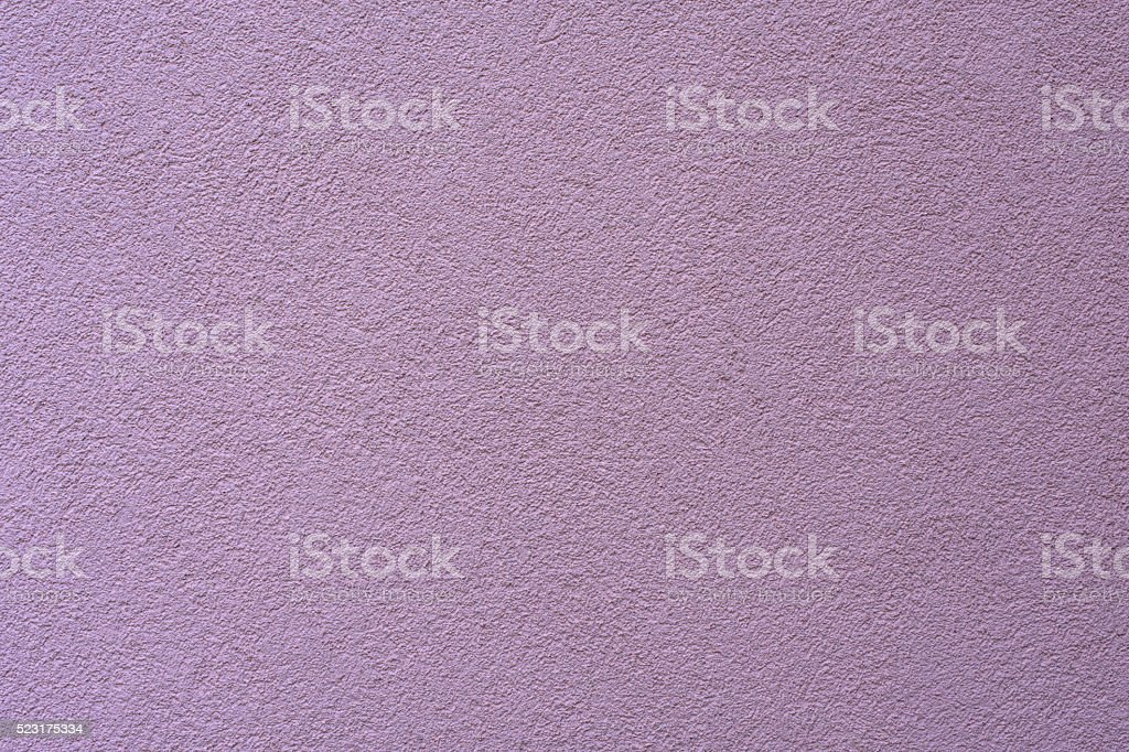 violet plaster wall for background stock photo