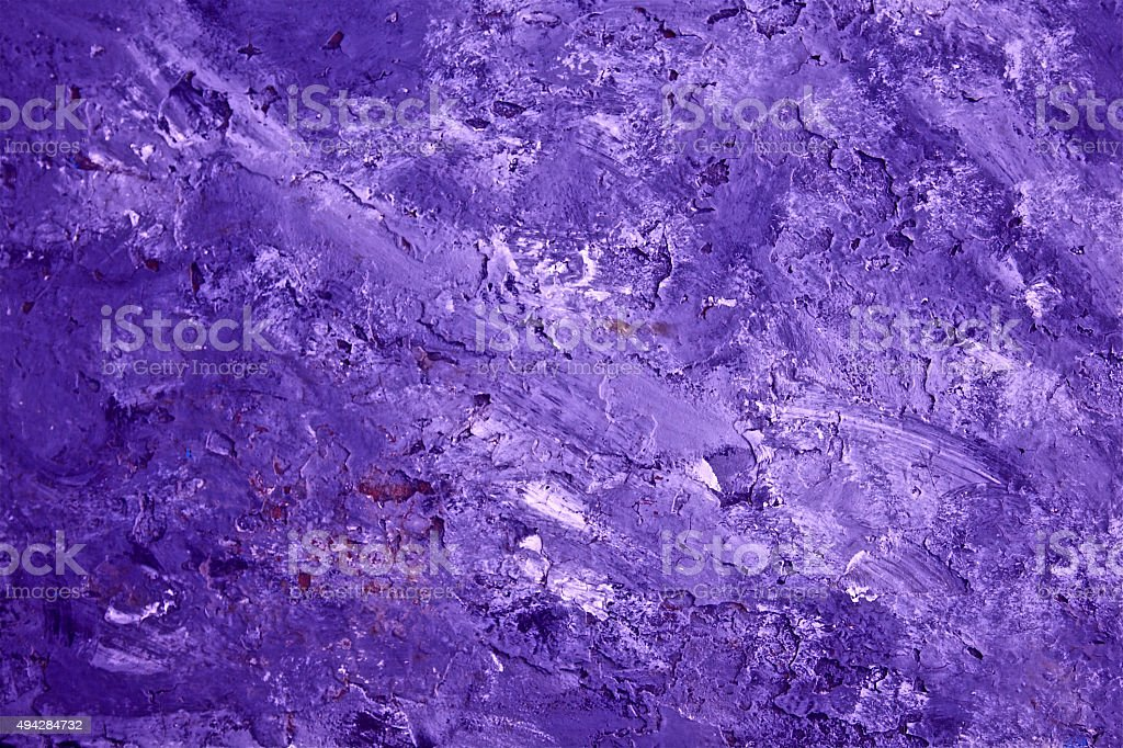 Violet Purple Pink Background Old Surface Textured Peeling Paint Pattern stock photo